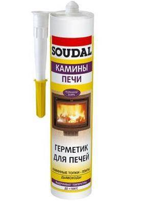 герметик soudal galofer 102829 термо 1500c 0,3л (15 шт)