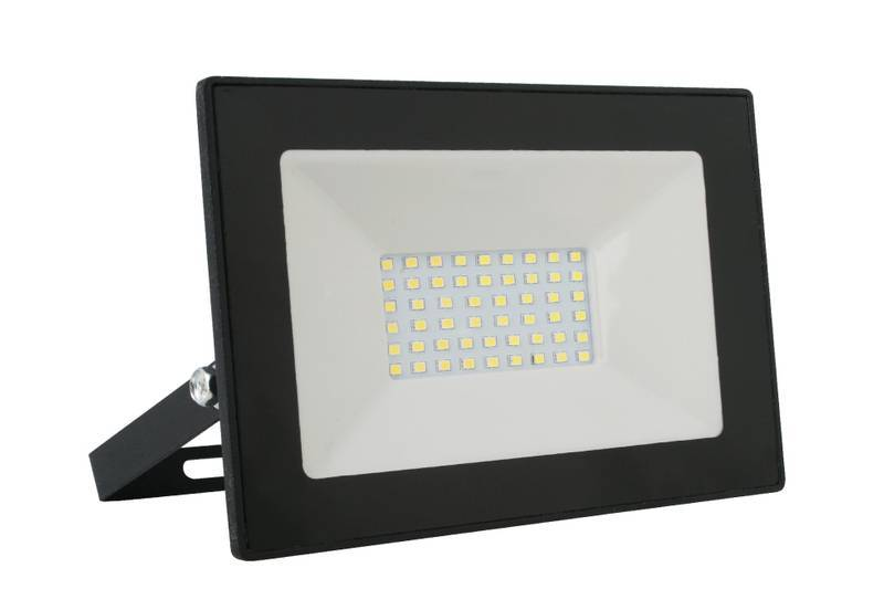 прожектор led ultraflash lfl-7001 70вт c02 черный 6500к