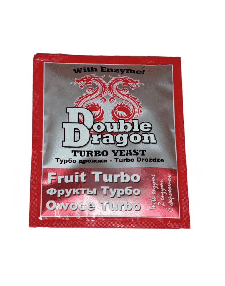 турбо дрожжи doubledragon fruit turbo