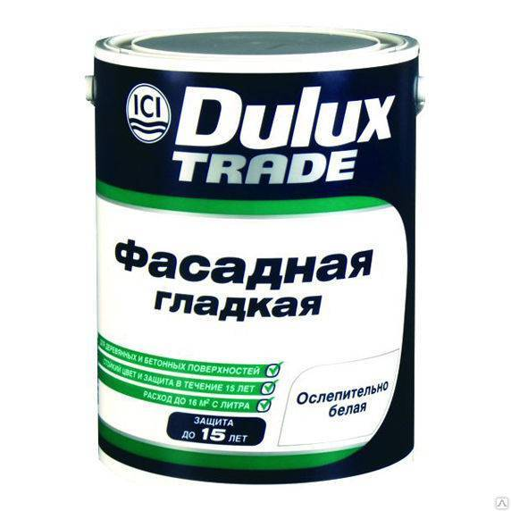 краска в/д dulux weathershield_smooth фасадная bm (4,8л)