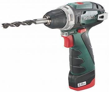 дрель metabo акк.винтов. power maxx bs+lc 40 (10,8в,2ск,2.0, патр.,кейс)